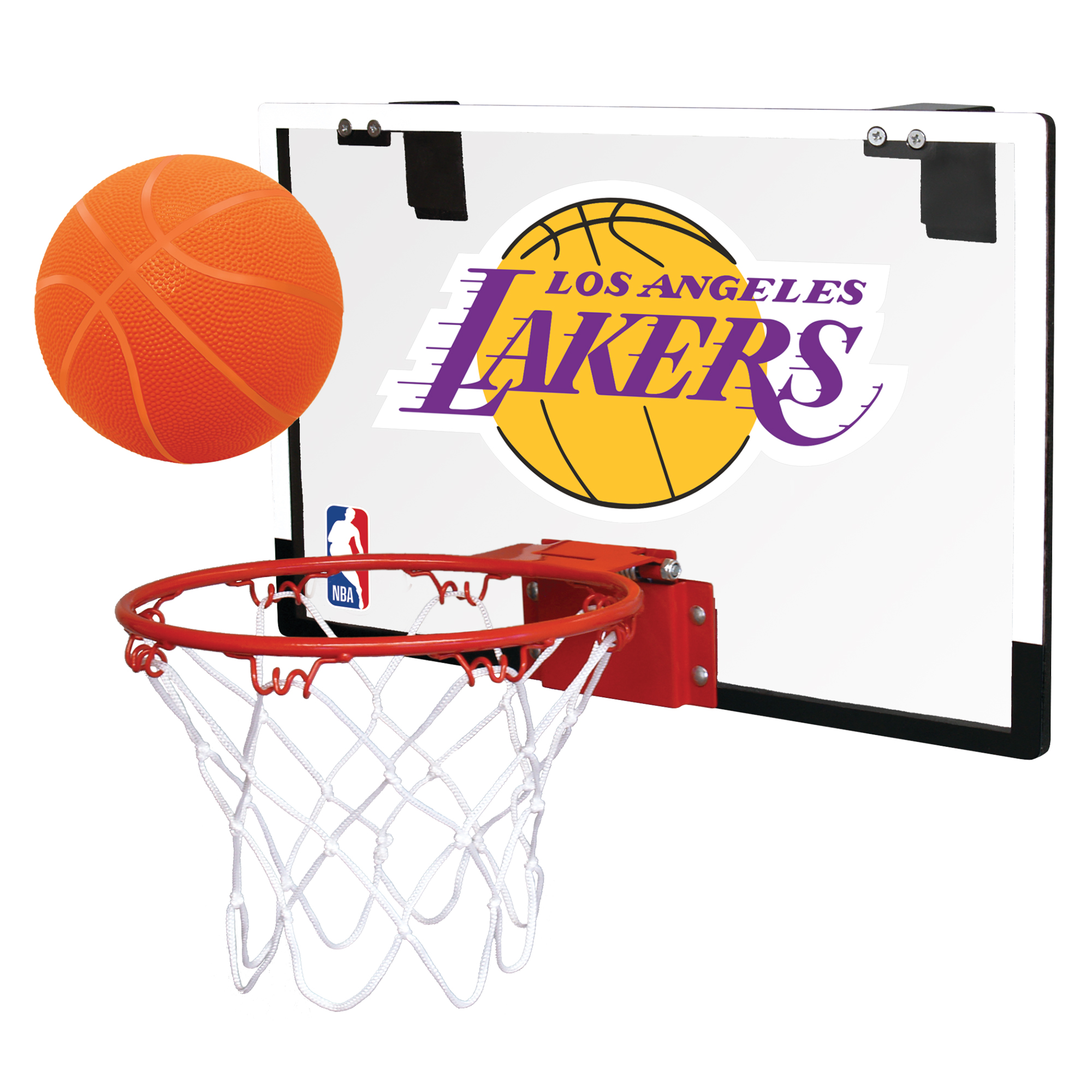 Rawlings NBA Game On Basketball Hoop Set, Los Angeles Lakers