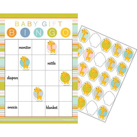 """Club Pack of 60 Yellow and White Happy Jungle Wild Safari Baby Shower Bingo Theme 10"""" - Yellow Ducks Baby Shower Theme"""