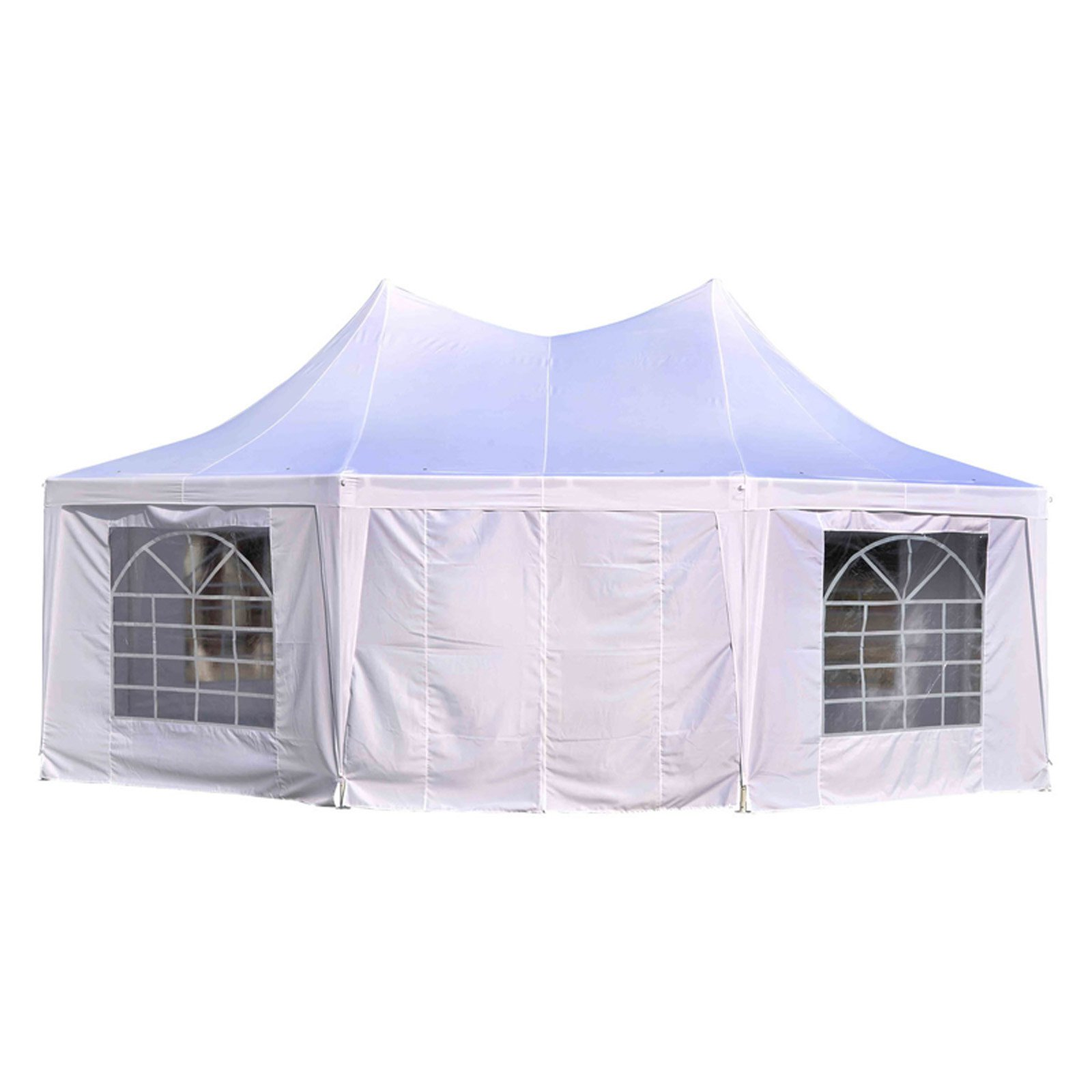 Outsunny 22 x 16 ft. Large Octagon Party Gazebo Canopy Tent by Aosom LLC