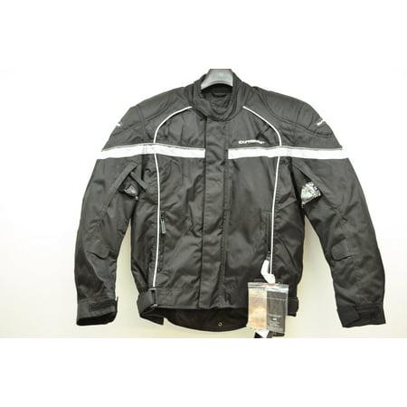 Tour Master 8775020504 Black Jett 2 Motorcycle Jacket Small 40 QTY 1