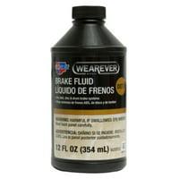 Wearever DOT 3 Premium Synthetic Brake Fluid, 12 oz.