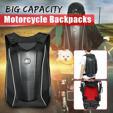 Motorcycle Backpack Motocross Riding Racing Storage Bag Carbon Fiber Motorbike Racing Carbon Fiber