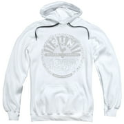 Sun Records Crusty Logo Mens Pullover Hoodie