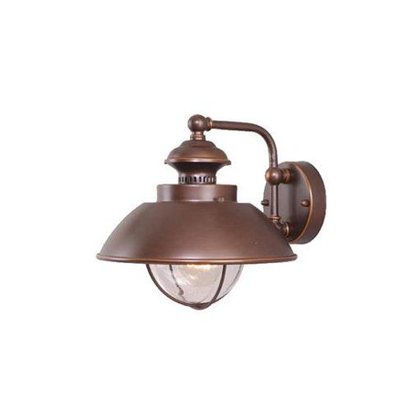 Nautical Outdoor Burnished Bronze 10.25 in. Outdoor Wall Lig
