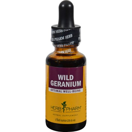 Wild Geranium Extract (Herb Pharm - Wild Geranium, Optimal Well-Being, 1)