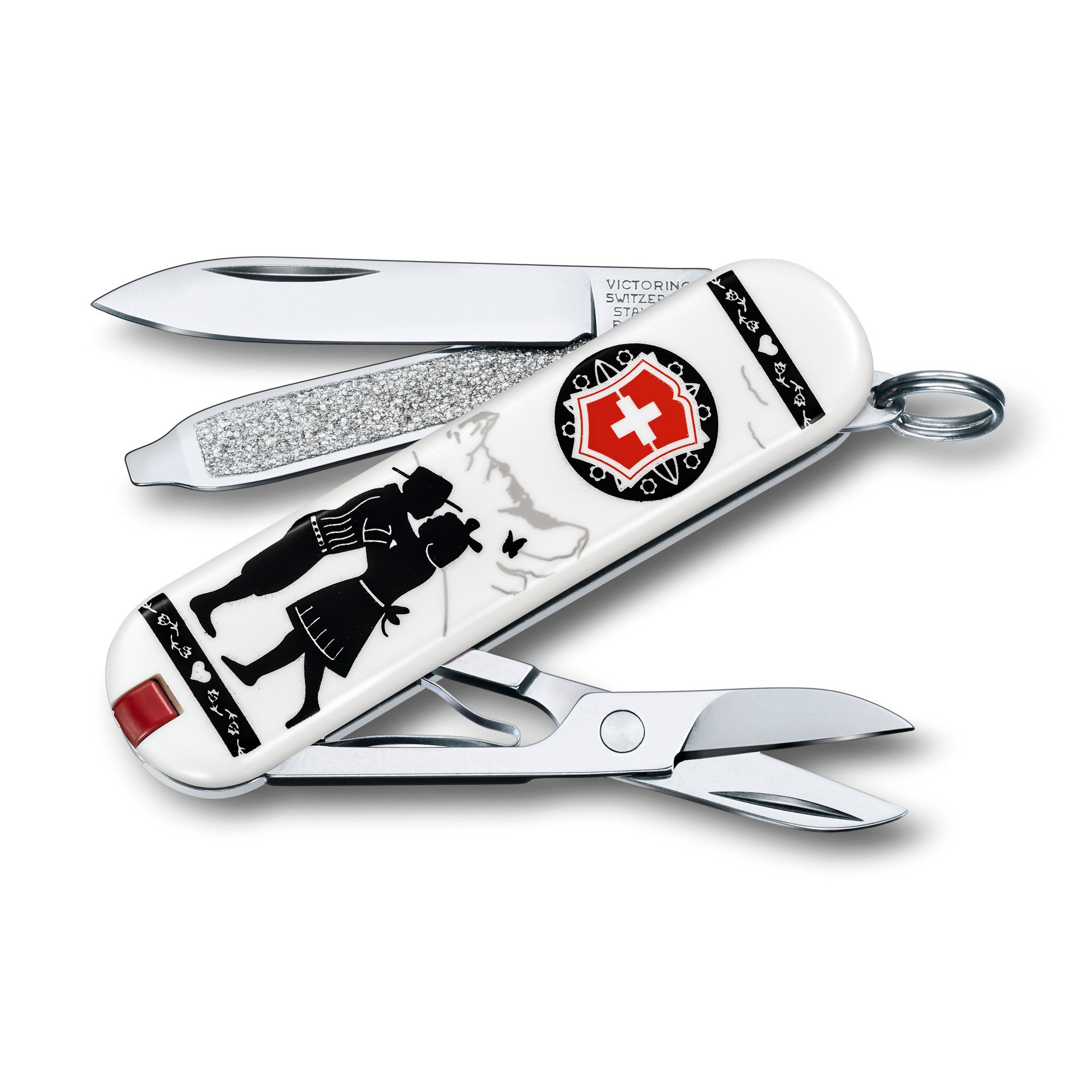 Victorinox Swiss Army Classic Sd Pocket Knife, Alps Love