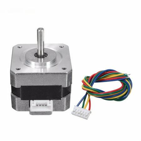 1Pc Nema 17 Stepper Motor 0.28N.m 0.4A 18° 12V for CNC 3D Printer DIY Stepper