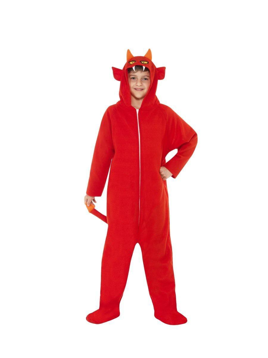 Devil All In One Jumpsuit Hooded Kids Boys & Girls ...