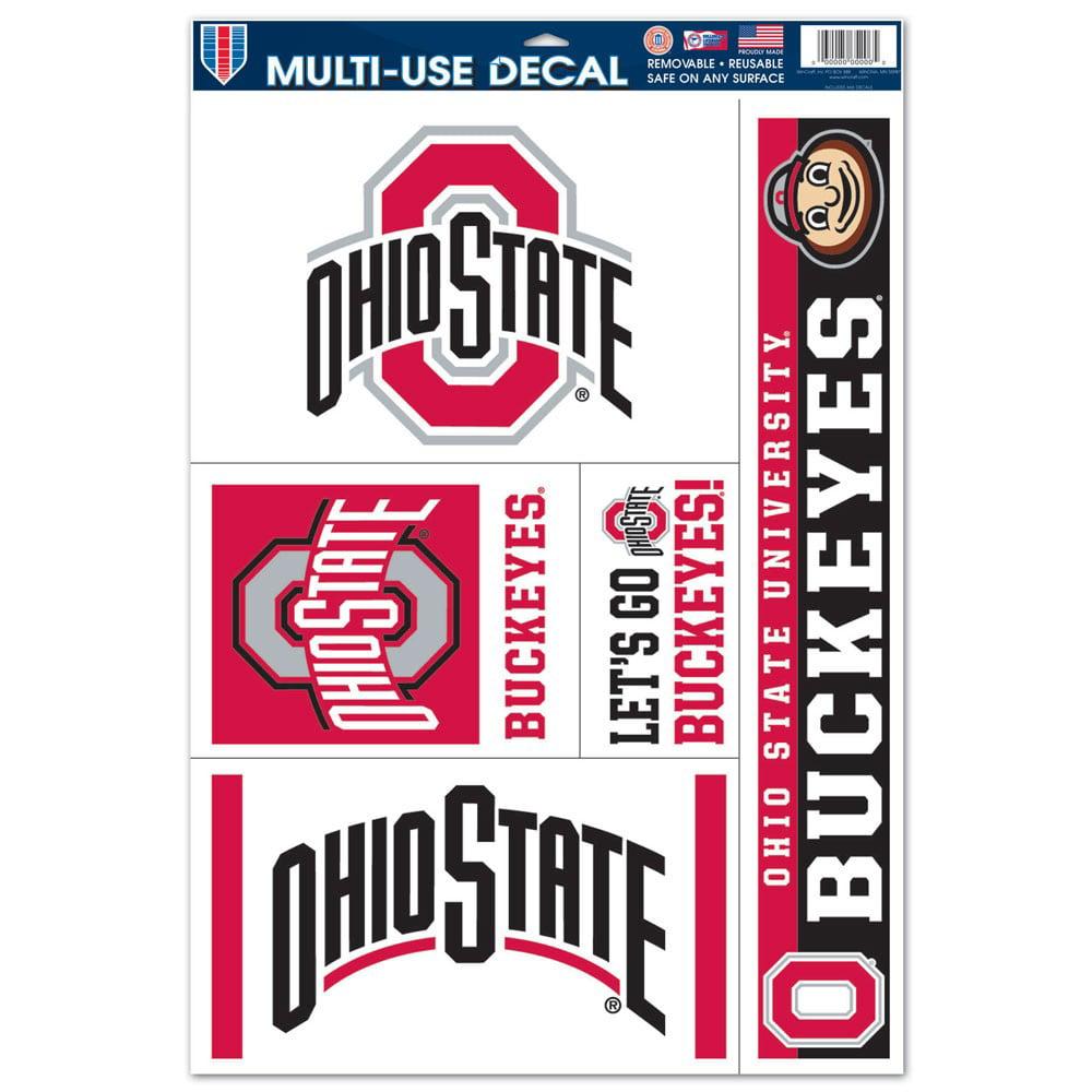 "Ohio State Buckeyes University 11""x17"" Ultra Decal Set"