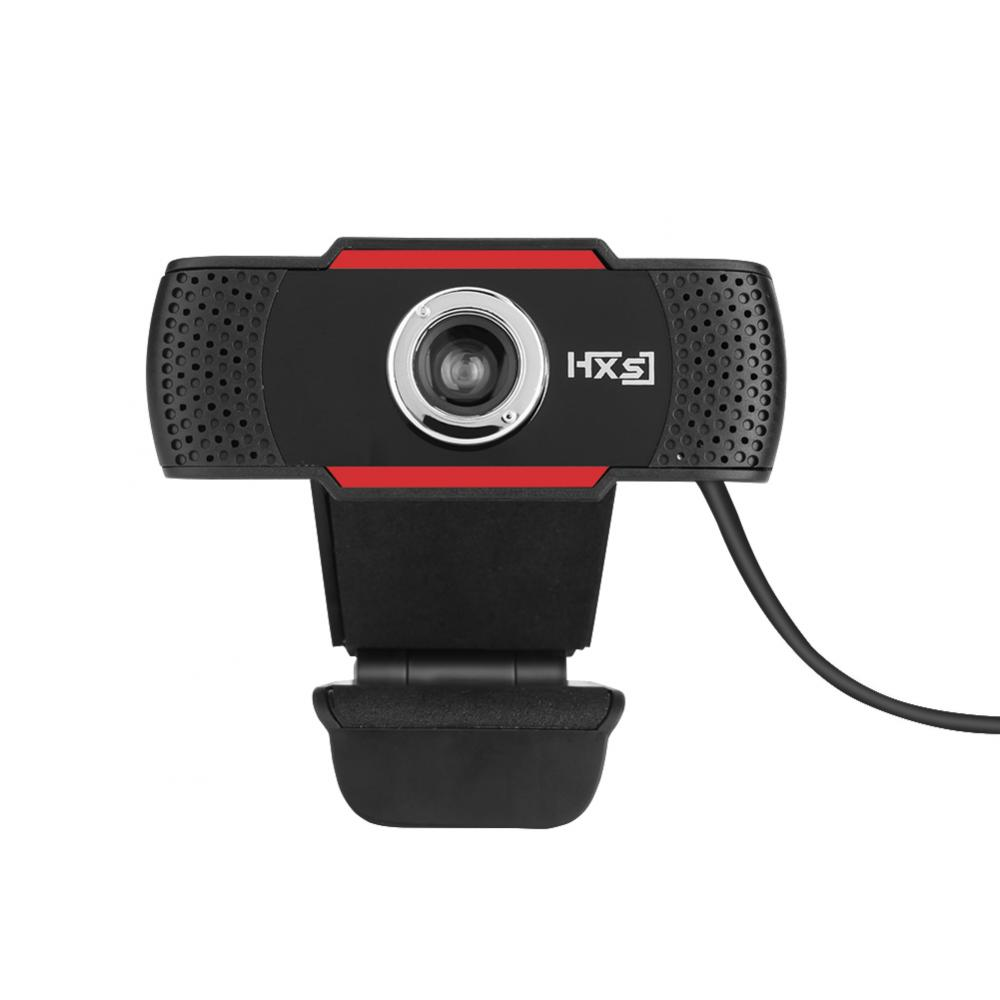 Tbest 12M Pixels Webcam Web Camera HD Adjustable Rotating Stand Auto White Balance, Webcam, PC Video Camera