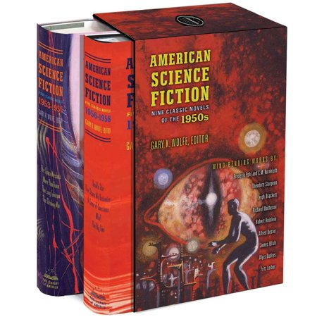 American Science Fiction: Nine Classic Novels of the 1950s : A Library of America Boxed Set