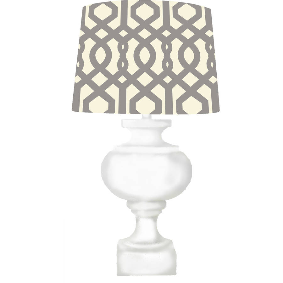 Jump and Dream Nursery Turned Wood Base Lamp by Jump and Dream