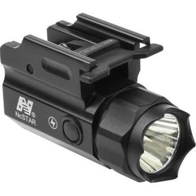 NcStar ACQPTF 150 Lumen LED Compact Flashlight Quick Release with Strobe