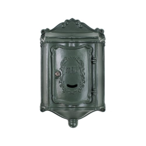 Amco Mailboxes Colonial Locking Wall Mounted Mailbox by