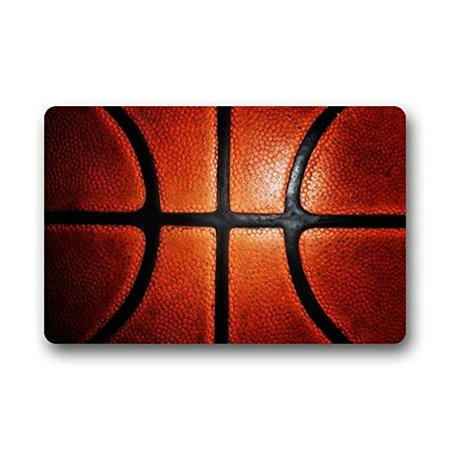 Kentucky Basketball Rug (WinHome Basketball Doormat Floor Mats Rugs Outdoors/Indoor Doormat Size 23.6x15.7 inches)
