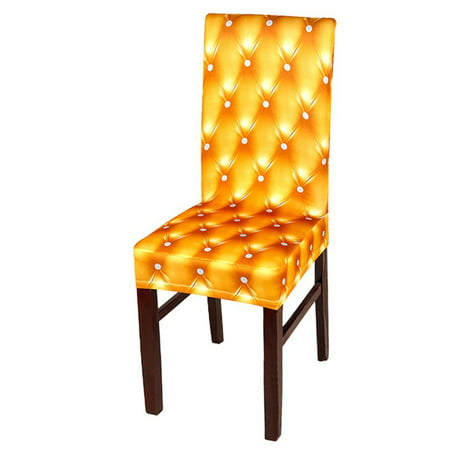 Wondrous Wedlies Dining Room Chair Covers Soft Spandex Stretch Short Chair Seat Covers Dining Chair Slipcovers Banquet Chair Seat Protector Slipcover For Hone Squirreltailoven Fun Painted Chair Ideas Images Squirreltailovenorg