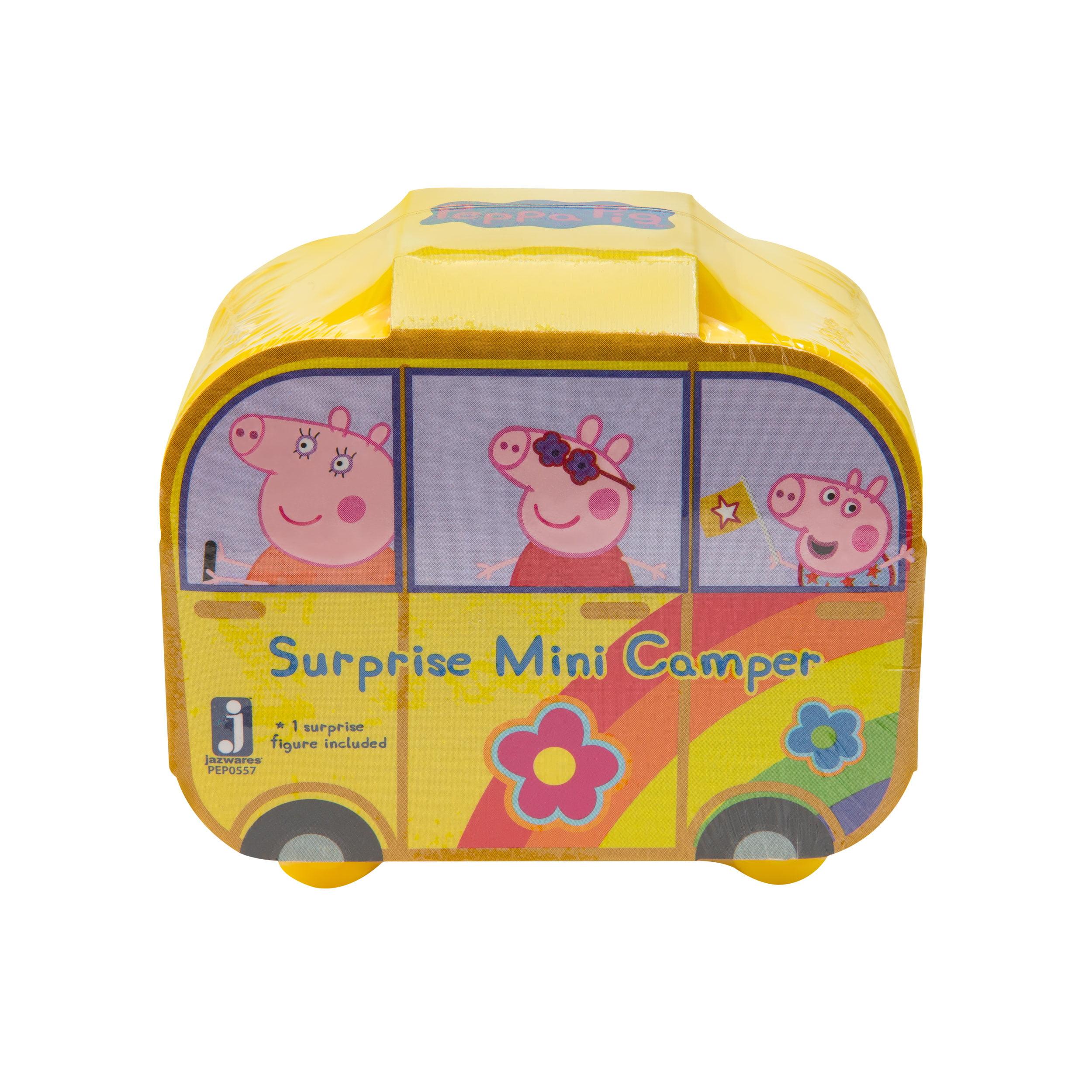 Peppa Pig Surprise Mini Campervan Mystery Vehicle