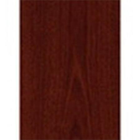 "Bush Business Series C 72"" Credenza Desk with Pedestal in Mahogany - image 4 de 7"