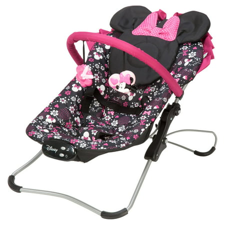 ccfa2d782 Disney Baby Snug Fit Folding Bouncer - Minnie Pop - Walmart.com