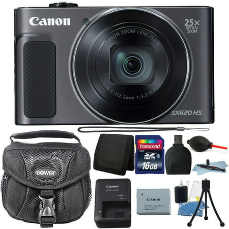 Canon PowerShot SX620 HS 20.2MP 25X Zoom WIFI Digital Camera with 16GB Accessory - Zoom 8 Megapixels Canon Powershot