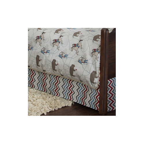 Sweet Potato by Glenna Jean Happy Trails Bed Skirt