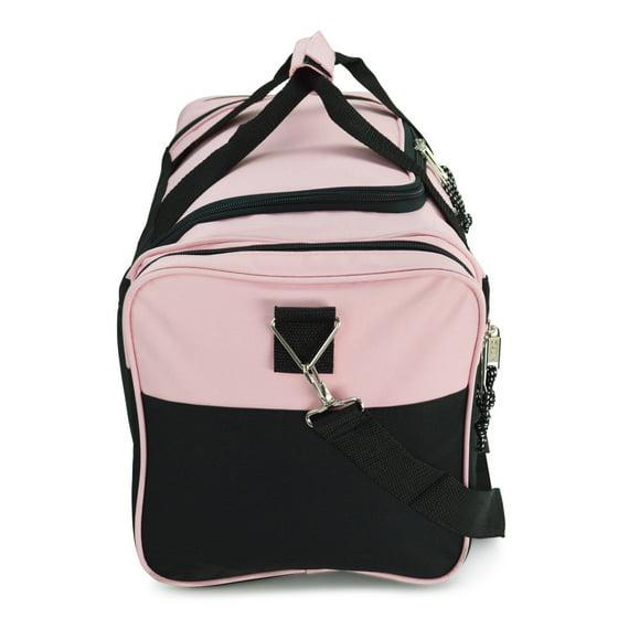 02a3d75baf 21 Blank Sports Duffle Bag Gym Bag Travel Duffel with Adjustable Strap in  Orange - Walmart.com