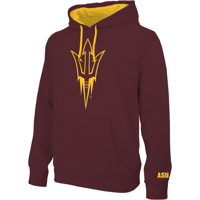 Arizona State Sun Devils Hooded Sweatshirt Maroon S