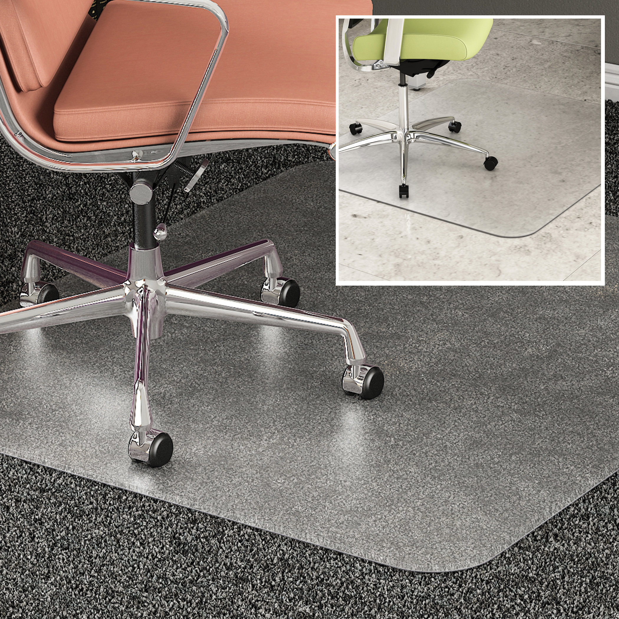 Office Chair Mat For Carpet office chair mats