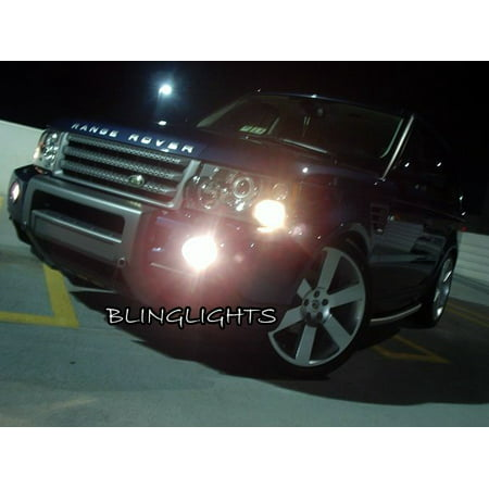 2006 2007 2008 2009 Range Rover Sport HSE Supercharged Xenon Fog Lamps Driving Lights Foglamps (2008 Land Rover Range Rover Sport Supercharged)