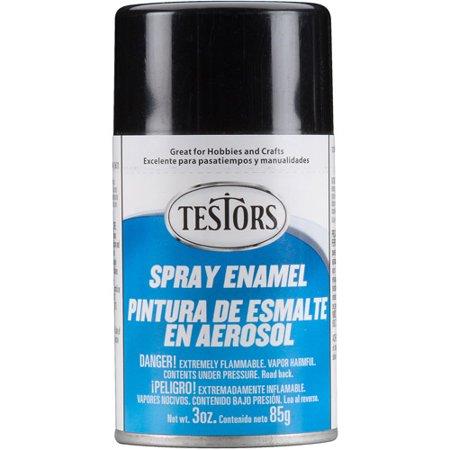 testors spray paint black 3 oz. Black Bedroom Furniture Sets. Home Design Ideas