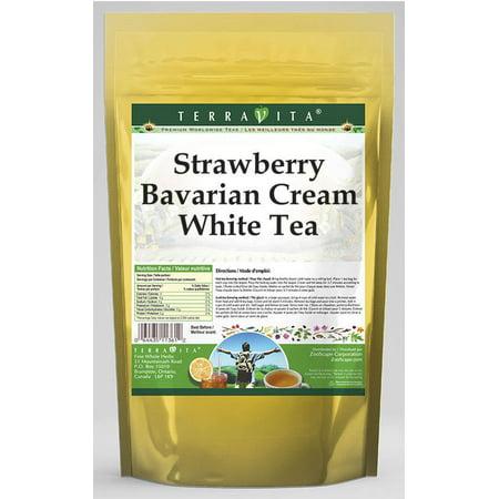 Cream White Tea - Strawberry Bavarian Cream White Tea (25 tea bags, ZIN: 538348)
