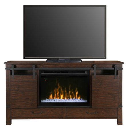 Dimplex Austin 30″ Fireplace TV Stand in Harper Brown