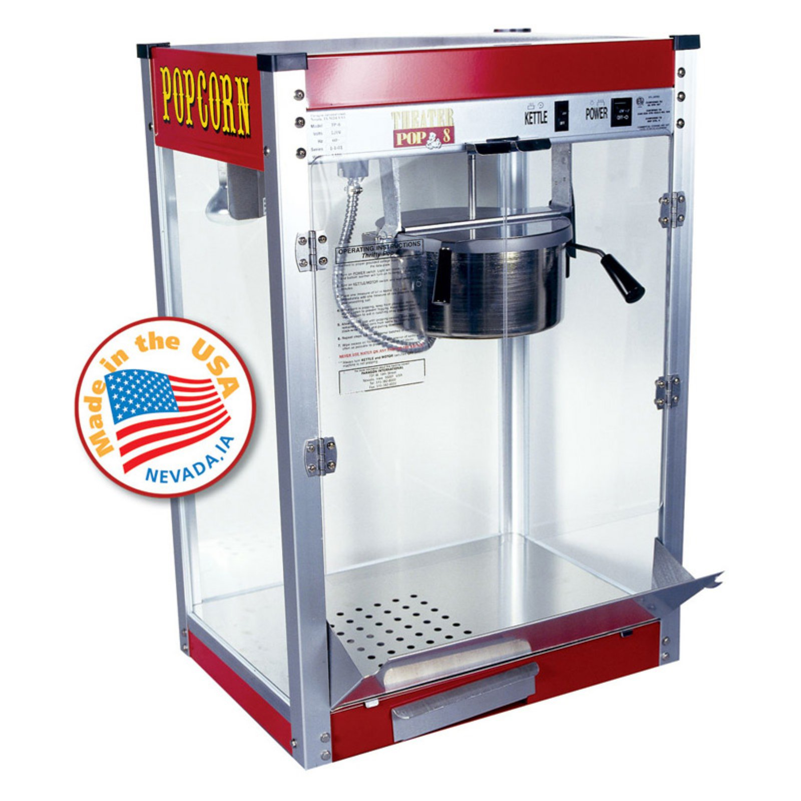 Paragon Theater Pop 8 oz. Popcorn Machine