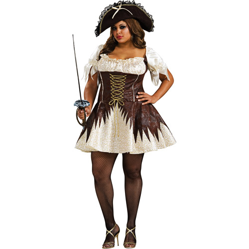 Buccaneer Pirate Adult Halloween Costume