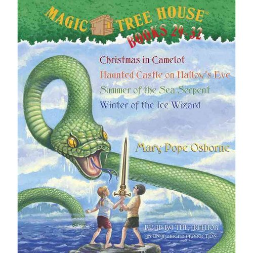 Magic Tree House Books 29-32: Christmas in Camelot/Haunted Castle on Hallow's Eve/Summer of the Sea Serpent/Winter of the Ice Wizard