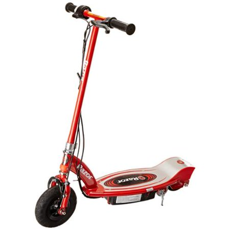 Razor e100 motorized 24v electric scooter red for Motorized scooter for kids