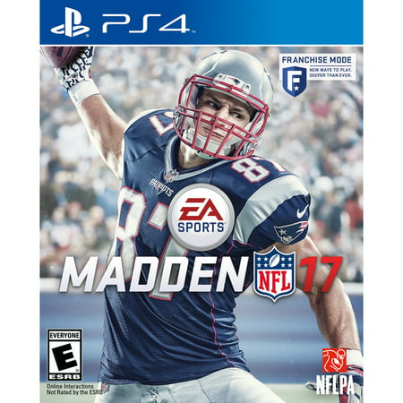 Madden NFL 17, Electronic Arts, PlayStation 4,