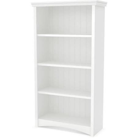 South Shore Artwork 4-Shelf Bookcase, Multiple Finishes