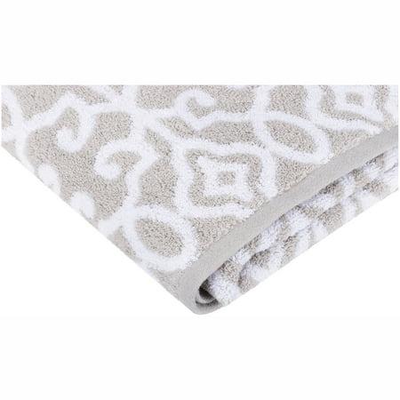 Better Homes & Gardens Thick & Plush Cotton Jacquard Towel, 1 Each