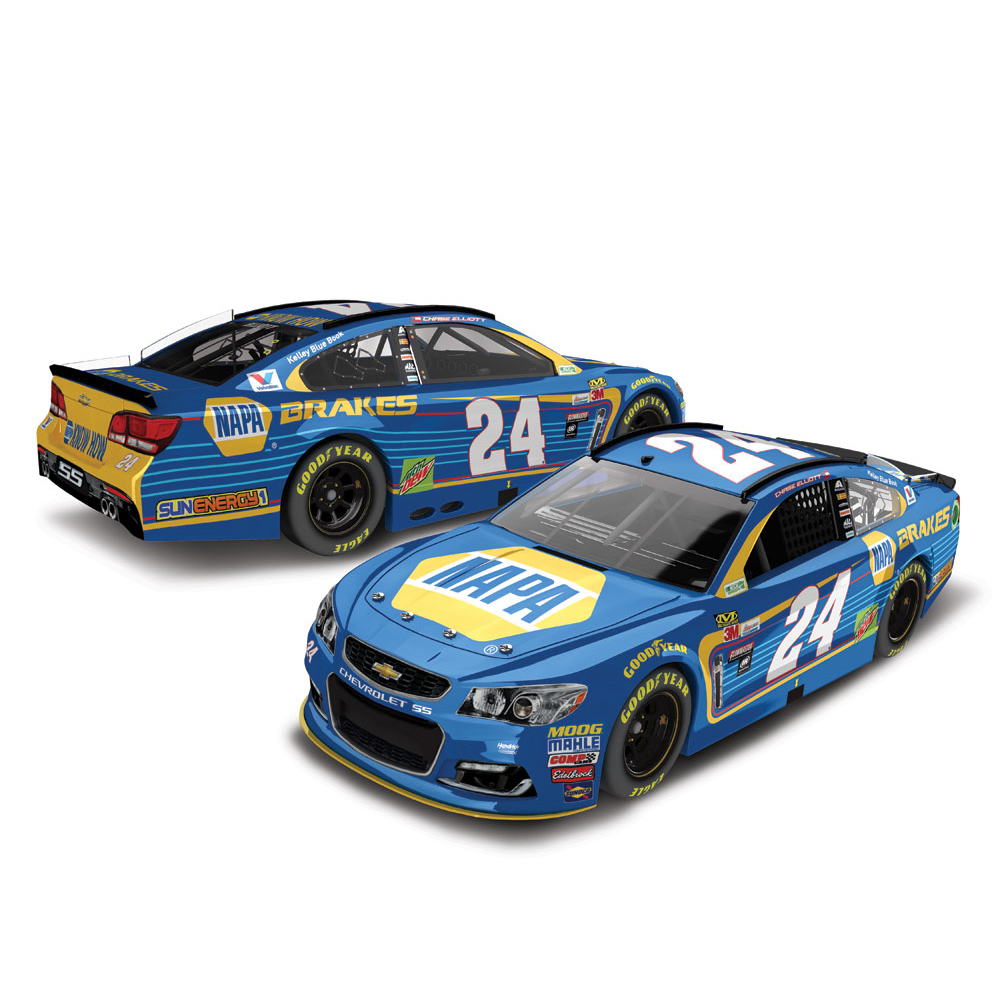 Chase Elliott Action Racing 2017 #24 NAPA Brakes 1:24 Monster Energy Nascar Cup Series... by Lionel LLC