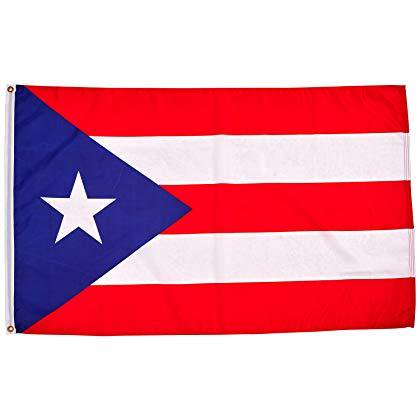 3x5 Foot Puerto Rican Flag Double Stitched Puerto Rico Flag with Brass Grommets | 3 by 5 Foot Premium Indoor Outdoor Polyester Banner