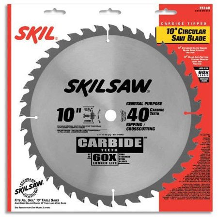Skilsaw 75140 10 in 40 tooth combination cutting circular saw blade skilsaw 75140 10 in 40 tooth combination cutting circular saw blade keyboard keysfo Image collections