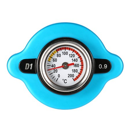 0.9 Bar Thermostatic Radiator Cap Cover with Water Temp Temperature Gauge for Truck Forklift Trailer - image 4 of 7