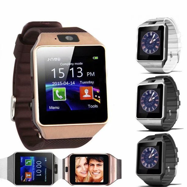 DZ09 Bluetooth Smart Watch Wrist Watch With Health Monitoring Calls For Android and iPhone