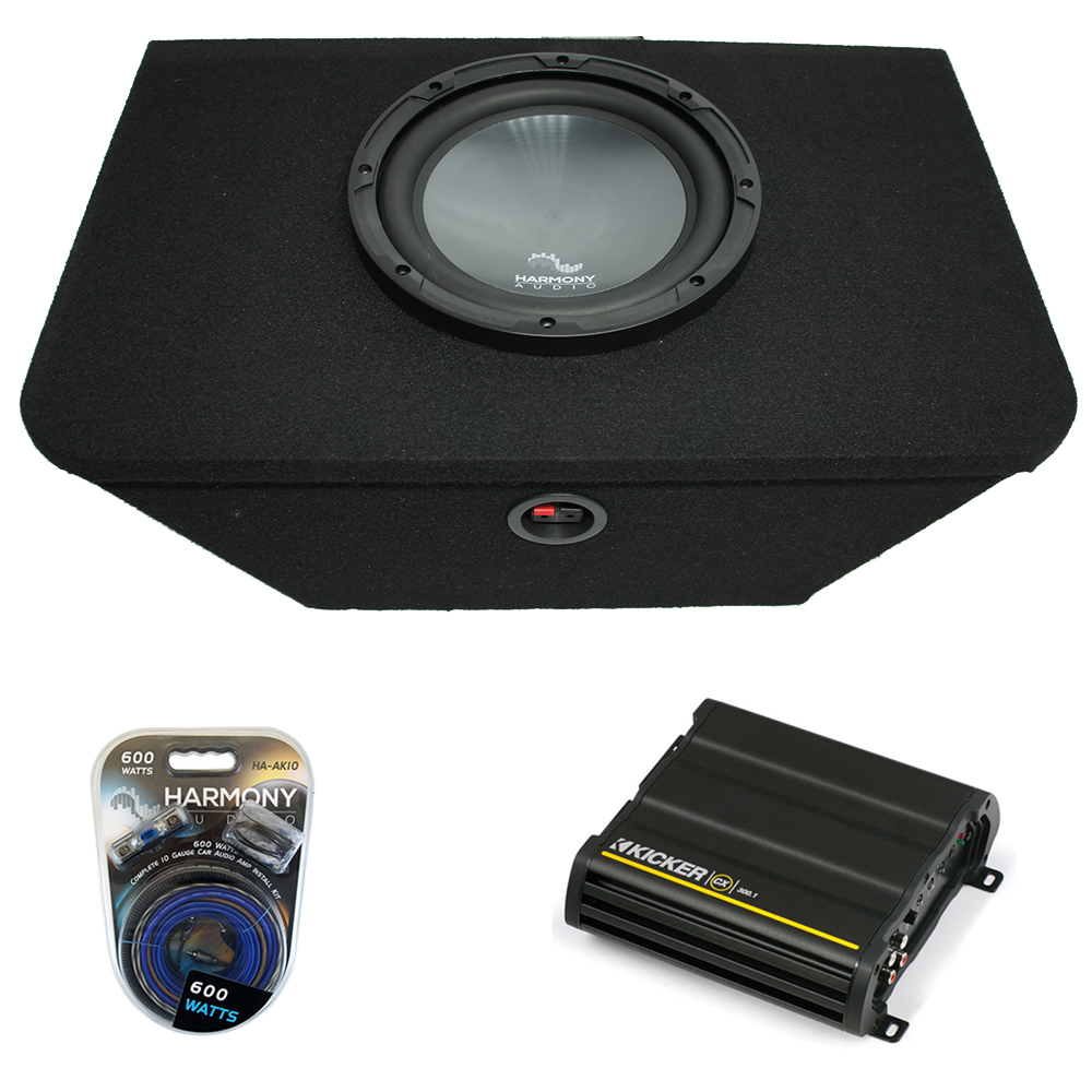 "2000-2009 Honda S2000 Custom Trunk Single 12/"" Bass Speaker Subwoofer Sub Box New"
