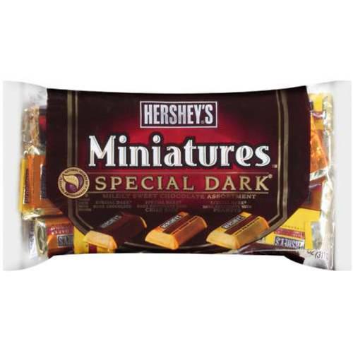 Hershey's Chocolate Special Dark Miniatures, 11 oz