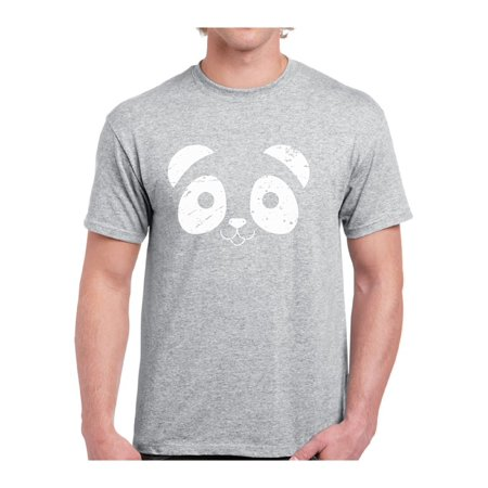 Mezee Panda Tshirt Funny Valentine's Day Shirts for Men Panda Face Shirt Panda Bear Valentine T Shirt Men's Valentine Outfit Gifts for Panda Lovers Panda Couple Shirts Valentine's Day Party Shirt