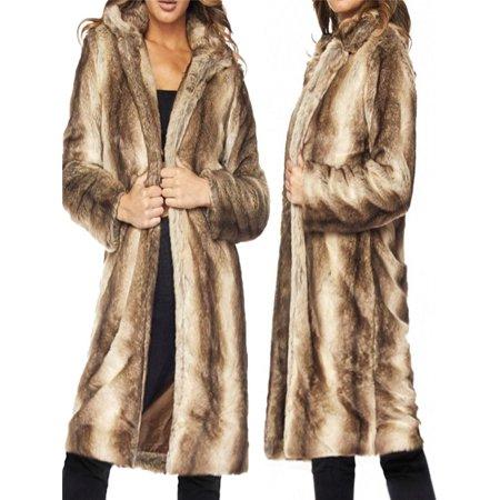 The North Face Fleece Parka - Womens Fleece Winter Warm Casual Faux Fur Parka Jacket Coat Outerwear Cardigan