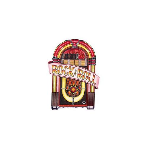 Costumes For All Occasions Qa53 Jukebox Cutout Decoration 36In