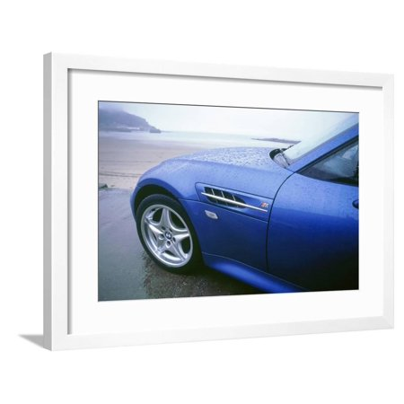 1998 BMW Z3 coupe Framed Print Wall Art